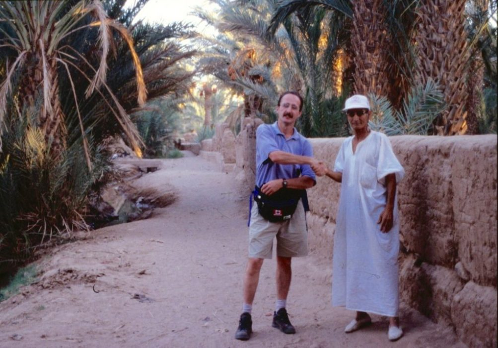 Lahcen, our guide in Zagora