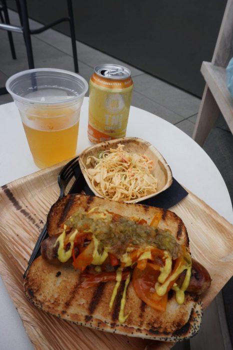 beer & bratwurst