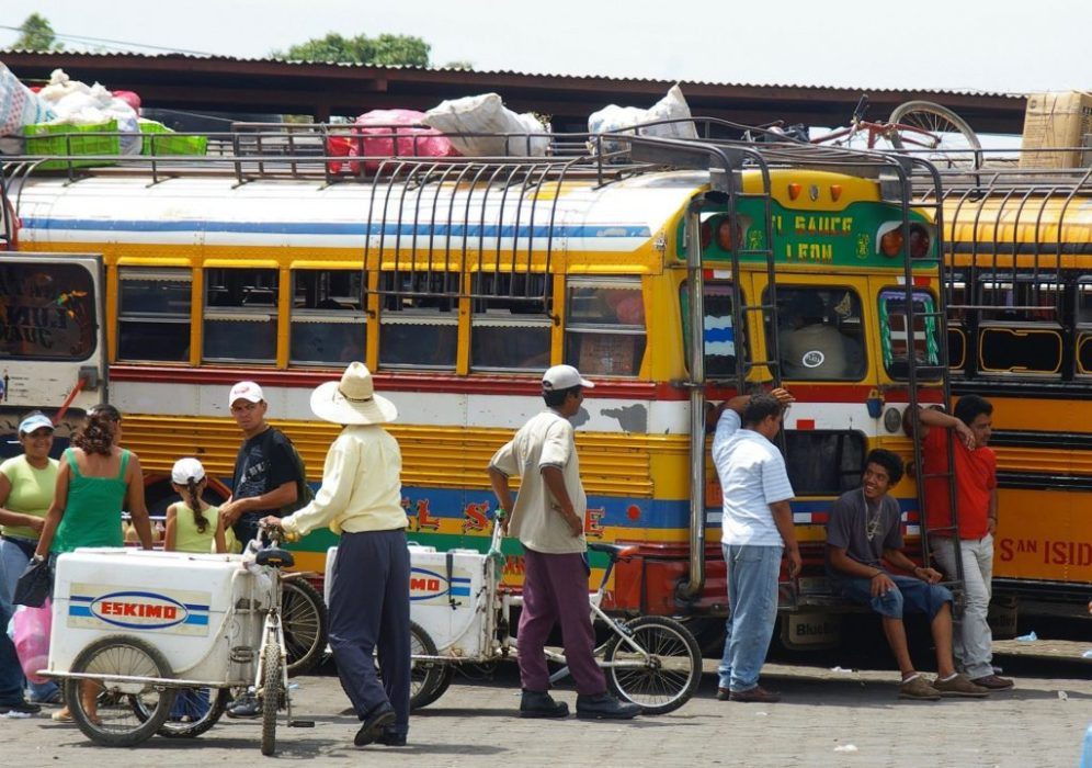Leon bus depot