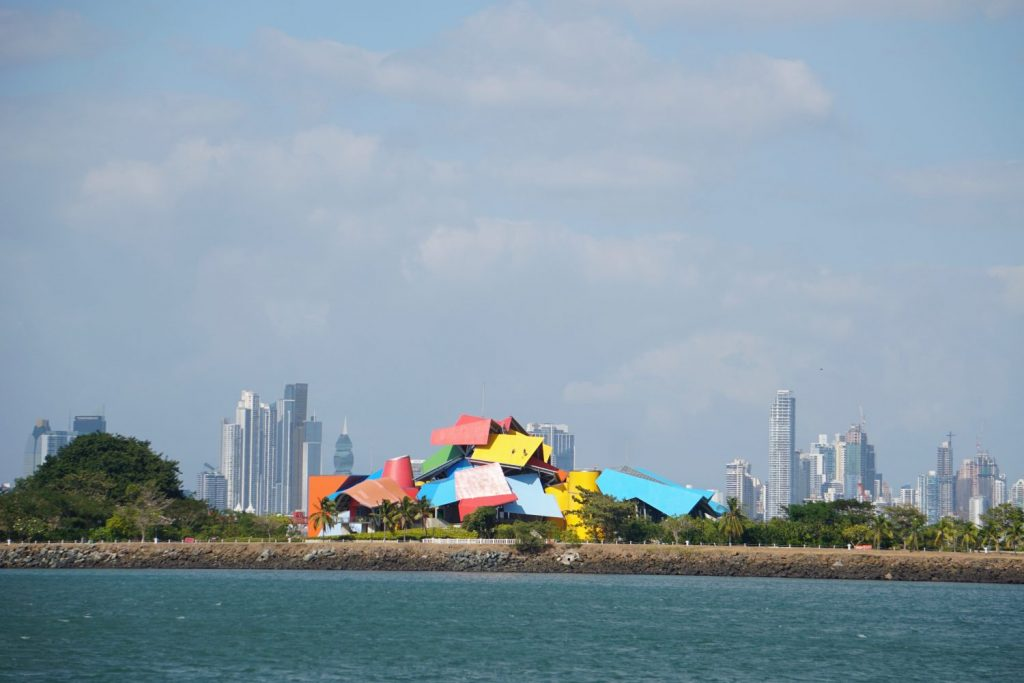 designed by Canadian Frank Gehry