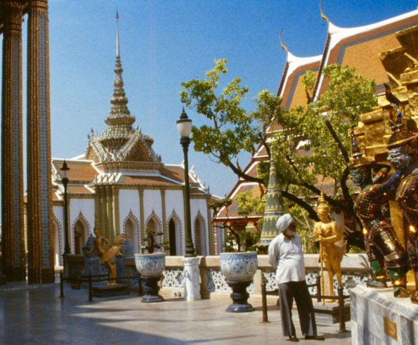 inside the Grand Palace