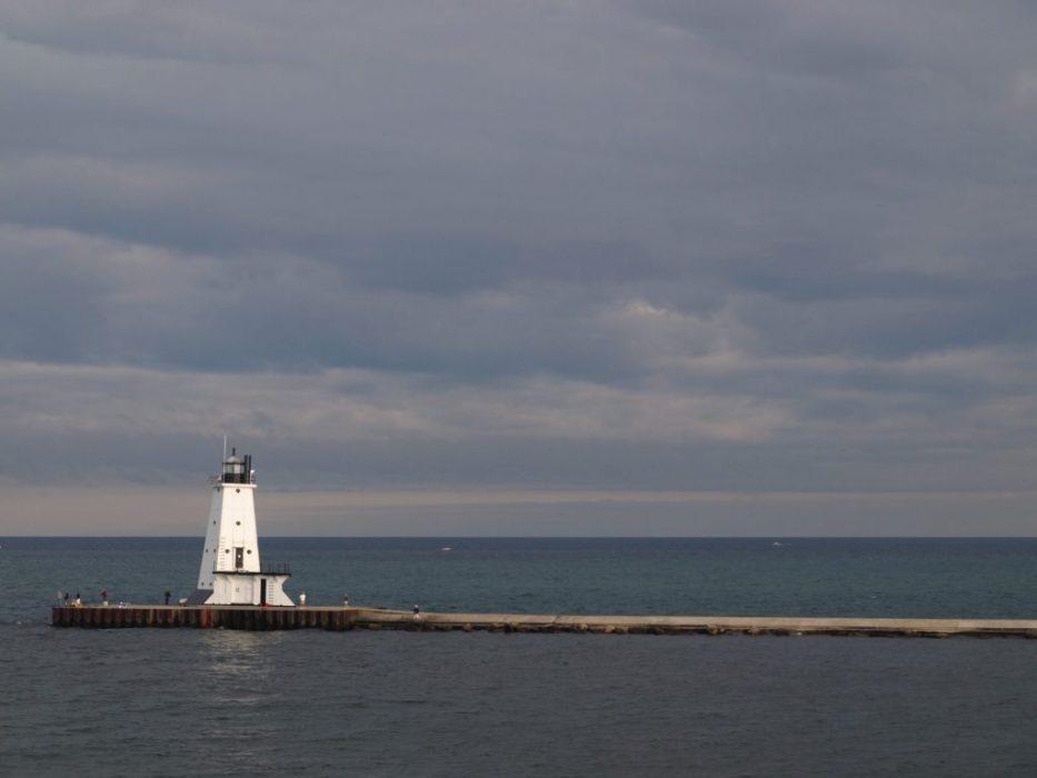 crossing Lake Michigan