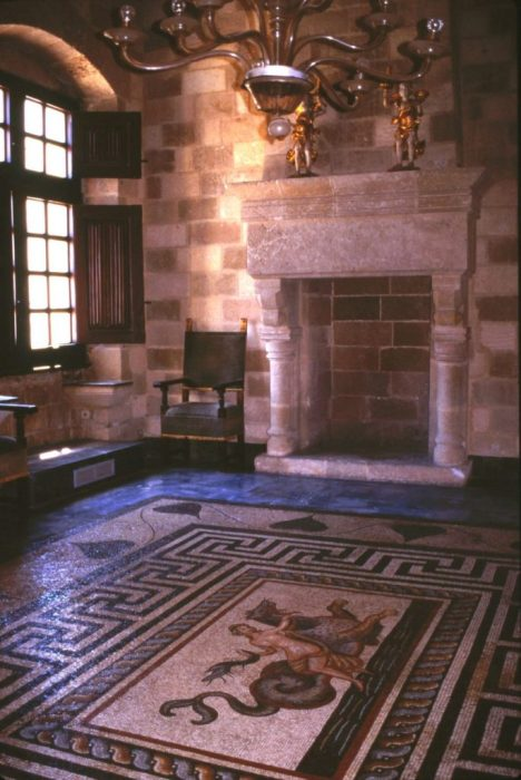 Roman tile work