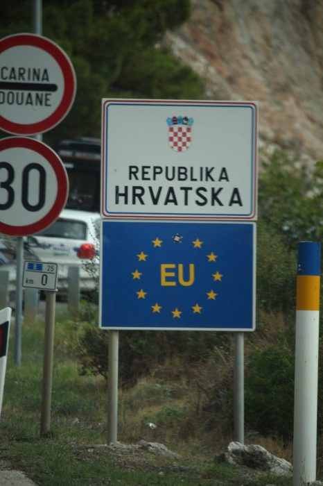 back in Croatia, or Hrvatska in the local language
