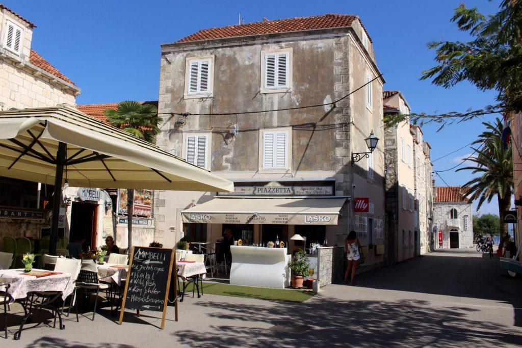 Orebic main square
