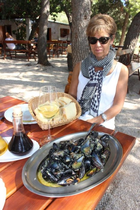fresh mussels!