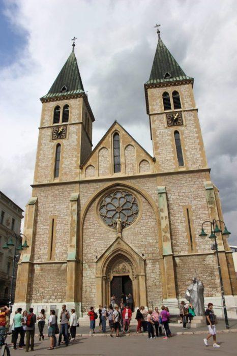 the Croat minority are Catholic