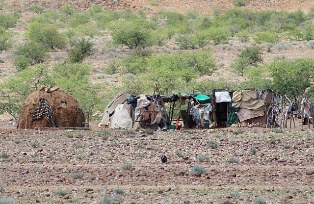 Himba housing