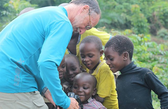 Craig, kids & camera play-back