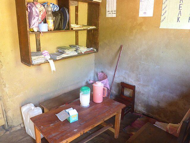 teachers' staff-room