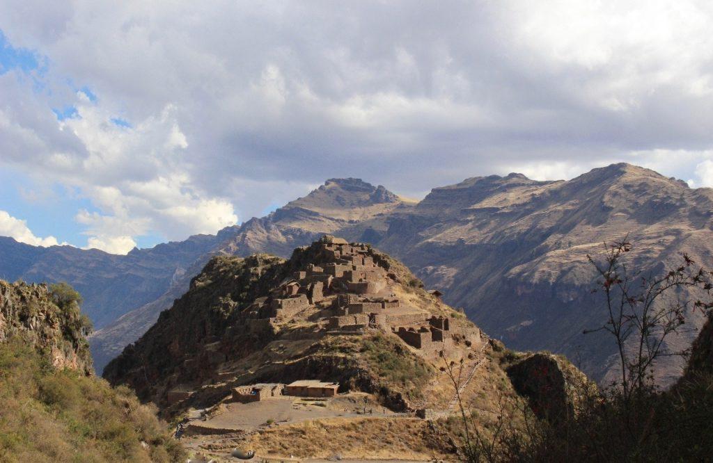 Inka ruins at Pisaq