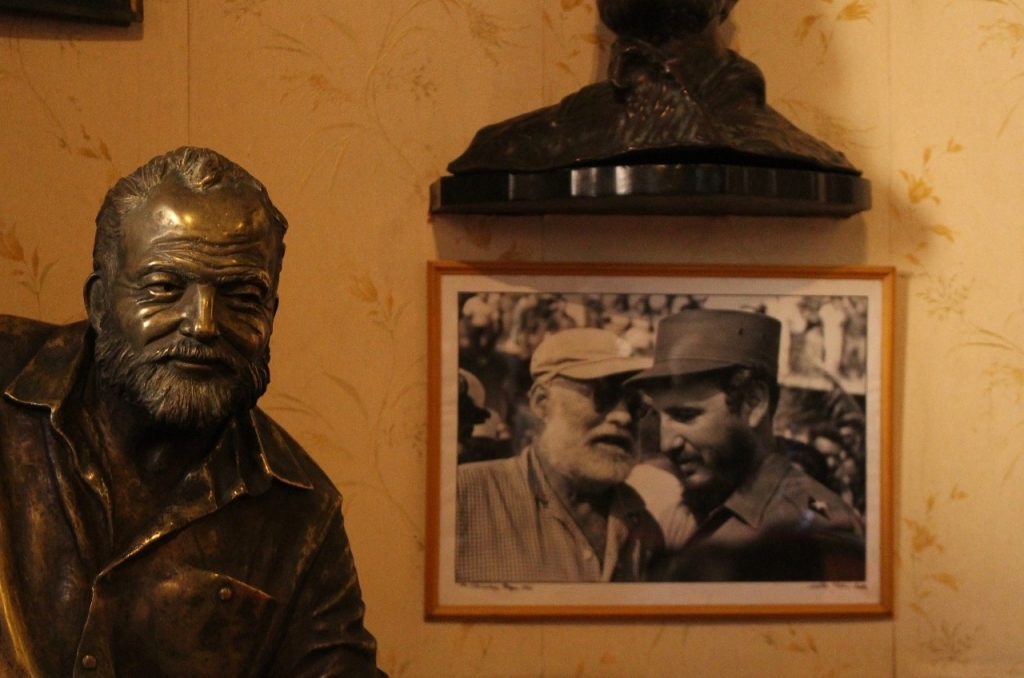 the two men met when Castro entered, and won, Hemingway's fishing derby