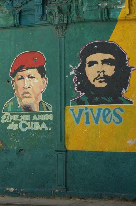 Che & Hugo Chavez