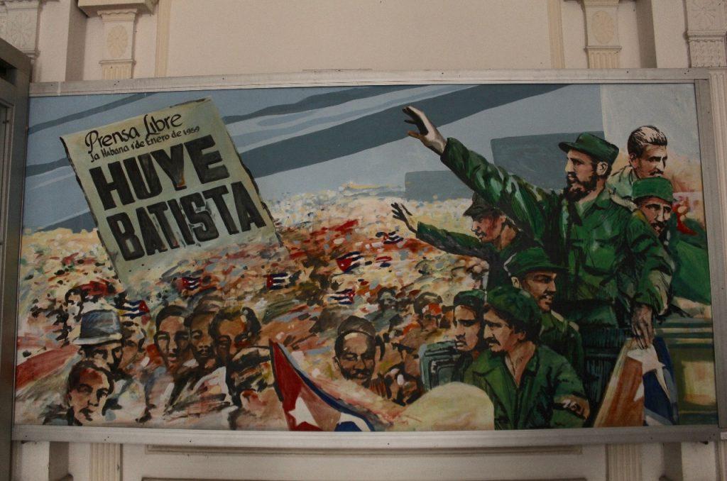 Fidel rallies the troops
