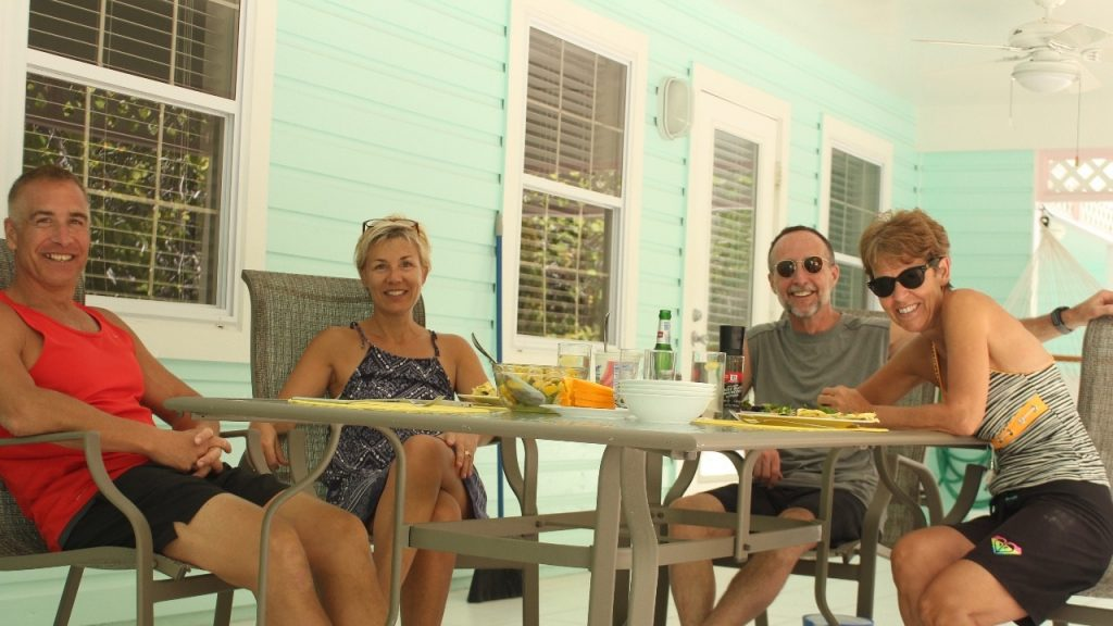 Sunday brunch on Little Cayman