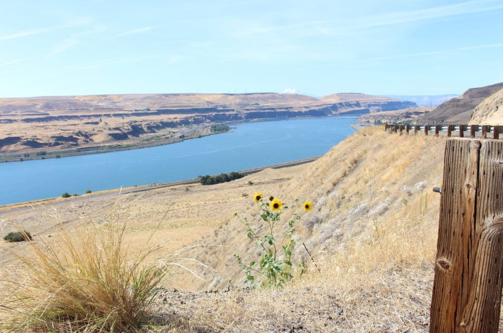 the mighty Columbia River