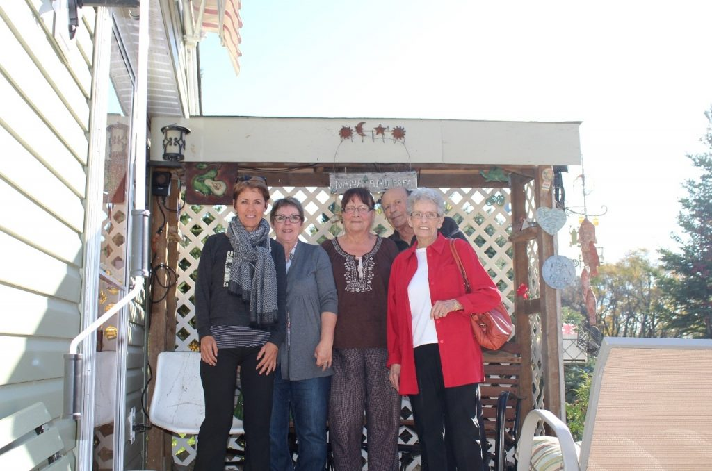 a visit with Myrna & Laurie