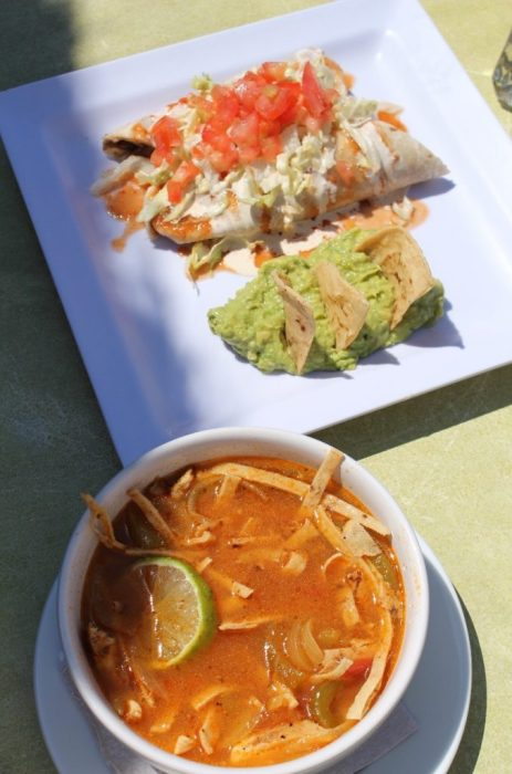 enhiladas & tortilla soup