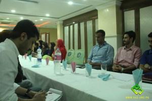 OEC Orientation ceremony