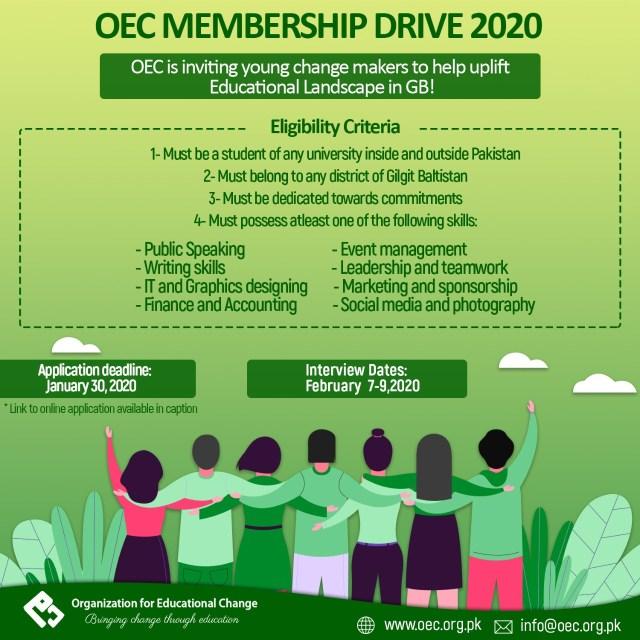 OEC Inductions 2020
