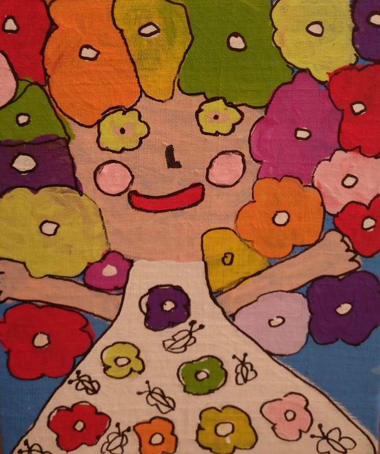 Roma children's paintings, Materská skola Hrebendova, Kosice