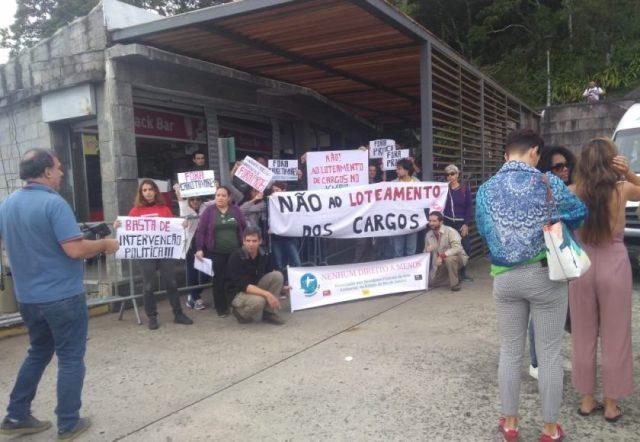 Mobilização no Parque Nacional da Tijuca. Foto: Divulgação