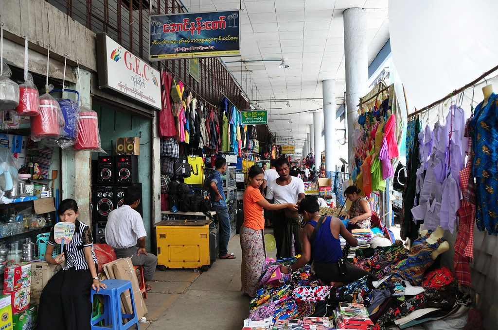 Yangon Market, Yangon, Myanmar