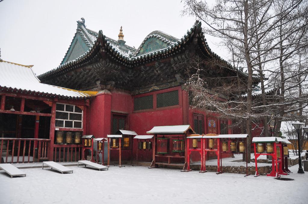 Gandantegchinlen Monastery - Ulaan Baatar - Mongolia