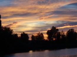 Abendhimmel zeigt Farbe © Paul Bock
