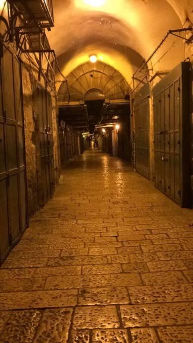 Gasse Jerusalem