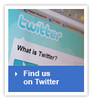 Find us on Twitter