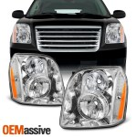 Auto Parts And Vehicles Gmc 07 14 Yukon Denali Xl Denali Hybrid Black Housing Replacement Headlights Car Truck Headlights