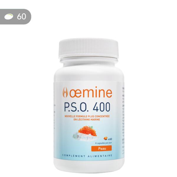 Oemine P.S.O. 400, lécithine marine concentrée riche en phospholipides