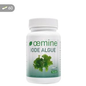 Oemine Iode Algue pour apporter la dose recommandée en iode naturelle