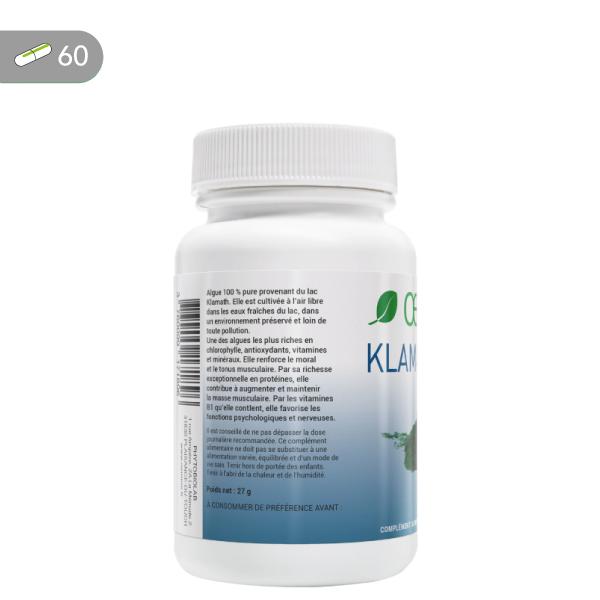 Oemine Klamath 1000 bio, 100 % pure pour renforcer le moral et le tonus musculaire