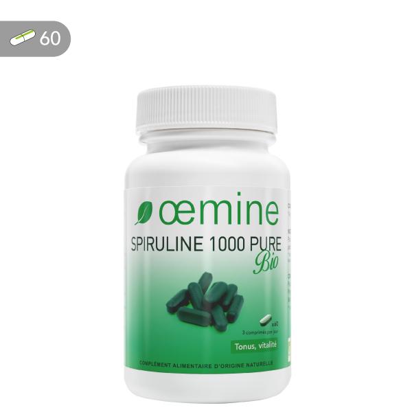 Oemine Spiruline 1000 mg Bio