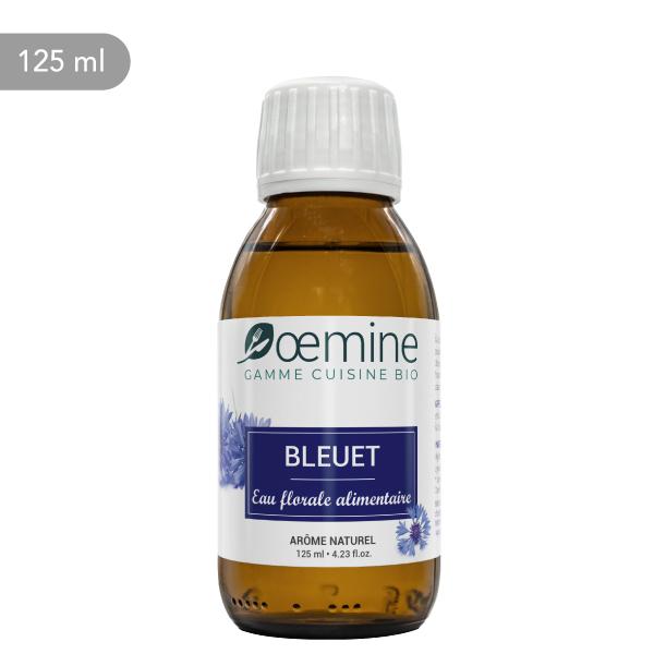 Hydrolat de Bleuet certifié biologique. Sans conservateur.