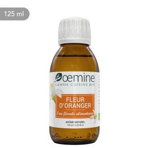 Hydrolat de Fleur d'oranger certifié biologique. Sans conservateur.