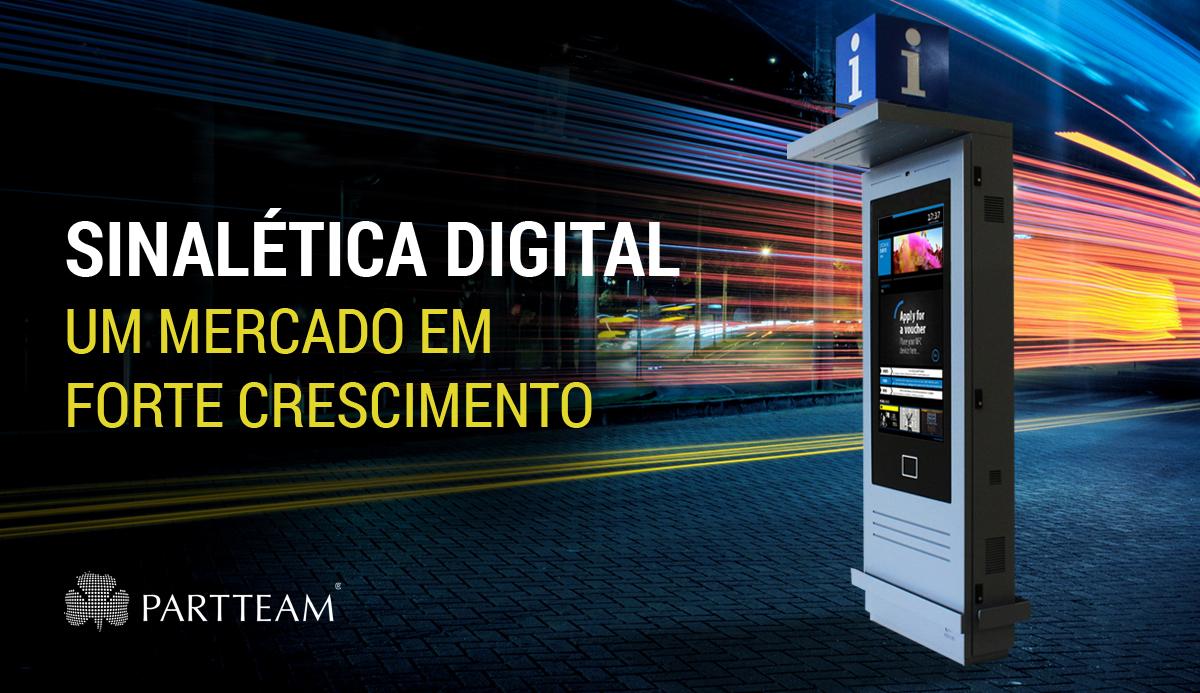 Sinaletica Digital: Um mercado em forte crescimento