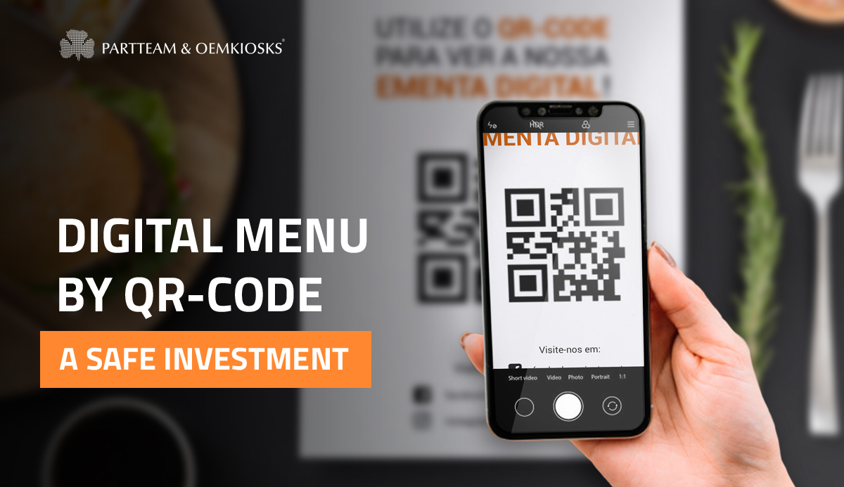 Digital menu by QR CODE: a safe investment