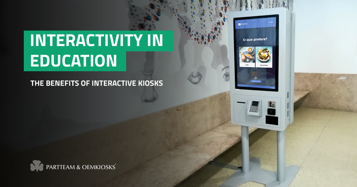 Interactivity in Education: the benefits of interactive kiosks