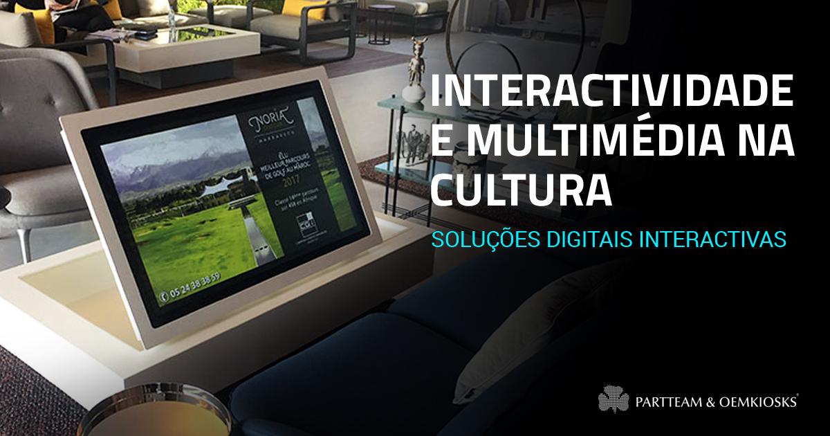 O impacto da interactividade e da multimédia na cultura