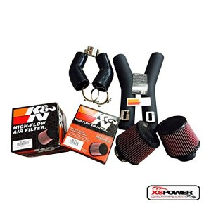 XS-Power NISSAN GTR R35 TURBO 2009-2012 UPPER AIR INTAKE PIPES AND FILTERS GT-R
