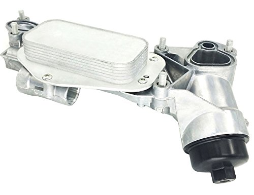 TOPAZ 93186324 Engine Oil Cooler Assembly with Oil Filter for Chevrolet Pontiac