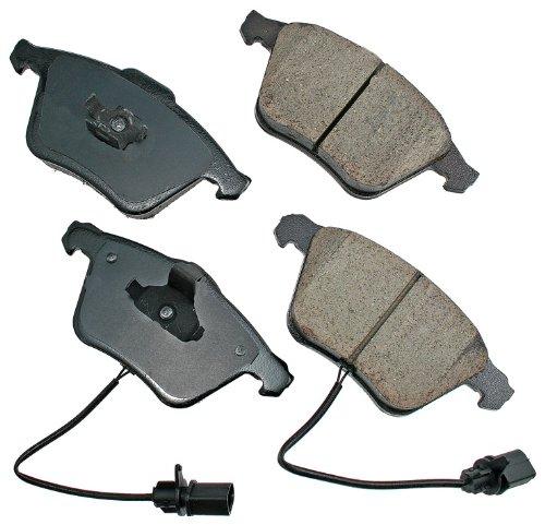 Akebono EUR1111 EURO Ultra-Premium Ceramic Brake Pad Set
