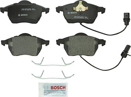 Bosch BP840 QuietCast Premium Semi-Metallic Front Disc Brake Pad Set