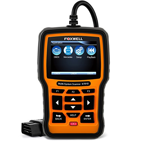 FOXWELL Full System OBD2 Scanner for Mercedes-Benz/Sprinter/Smart Auto