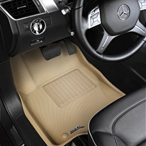 3D MAXpider Front Row Custom Fit All-Weather Floor Mat
