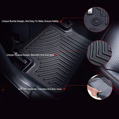 COOLSHARK Chevrolet Impala Floor Mats, Waterproof Floor Liners Custom Fit