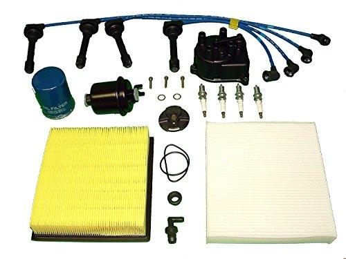 Tune Up Kit Honda CRV 2000-2001 AIR FUEL OIL FILTERS CAP ROTOR NGK PLUGS